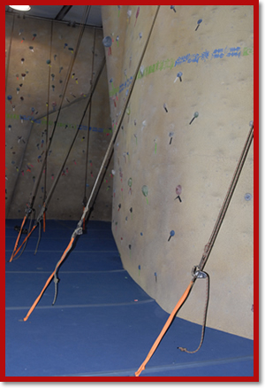 Gym Rock Wall Climbing